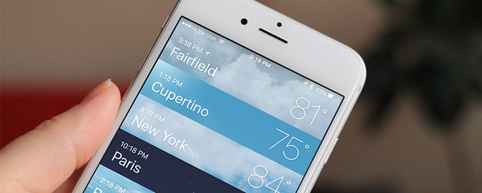 How to Add and Delete Locations in the Weather app on iPhone