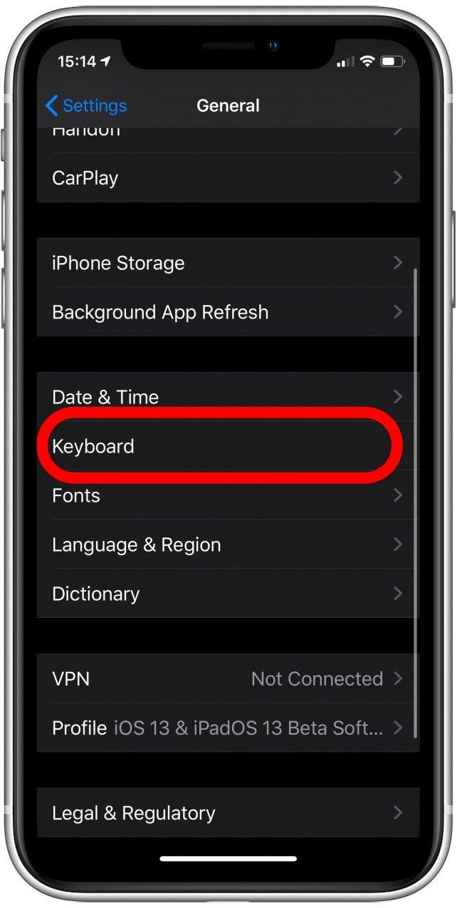 iphone swipe