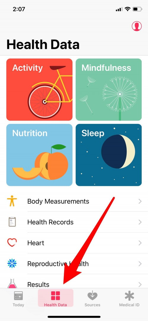 iphone medical records