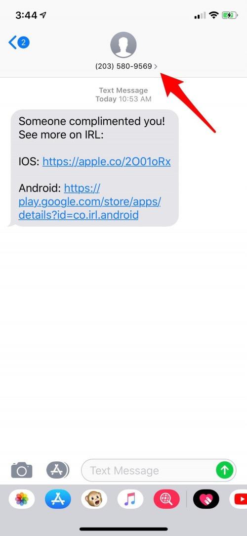 spam text messages