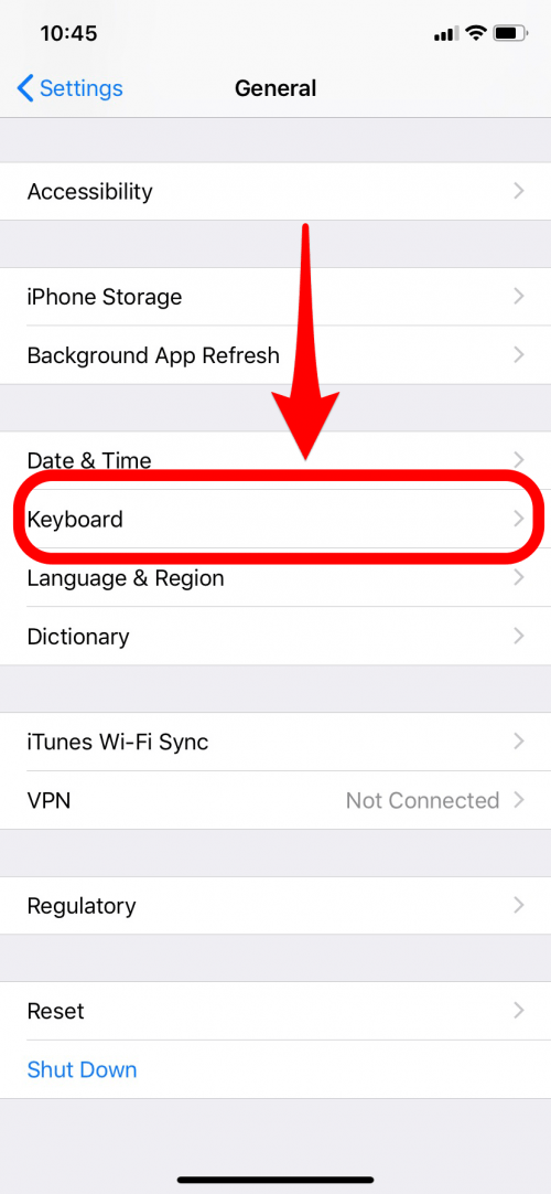 How to Switch between Keyboards on Your iPhone | iPhoneLife com