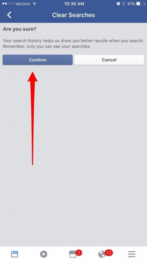 How to Clear Your Facebook Search History on iPhone