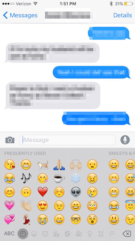 How To Add Emoticons To Text Messages